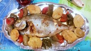 cuisiner une dorade daurade ou dorade au four le cuisine de samar