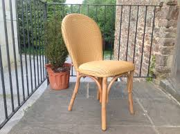 Lloyd Loom Bistro Chair Lusty Lloyd Loom