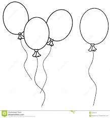 margarita outline balloon clipart outline collection
