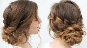 romantic updo hairstyle bridal hairstyles braidsandstyles12