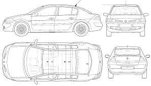 renault sedan 2006 car renault megane ii 4dr sedan 2006 the photo thumbnail image