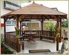 Gazebos For Patios Gazebo Sunshade Gazebos Pinterest Patios