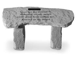 Commemorative Benches Memorial Benches Concrete Garden Memorial Bench