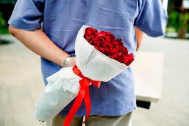 berraschung hochzeitstag romantische liebes hochzeitstag überraschung stockfoto bild
