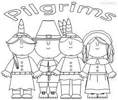 pilgrim coloring sheets thanksgiving coloring printables coloring