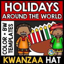 winter holidays around the world kindergarten activity kwanzaa