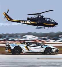 lamborghini helicopter in a lifetime