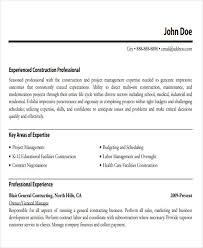 General Contractor Resume Sample by 42 Manager Resume Templates Free U0026 Premium Templates