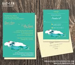 wedding invitations jamaica jamaica wedding invitation set jamaica destination wedding
