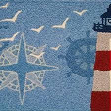 Red White And Blue Rugs Beautiful Nautical Area Rugs Beachfront Decor