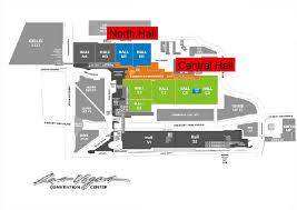 las vegas convention center floor plan nada 2016 interactive html floorplan