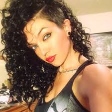 curly shaved side hair shaved sides with long hair for curly hair click for more