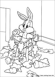 looney tunes coloring picture