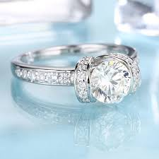 deco engagement ring deco engagement ring antique forever brilliant moissanite