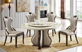 Lazy Susan Dining Room Table Dining Tables Dining Room Marble Top Dining Table