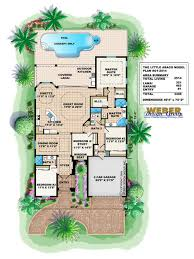 little abaco house plan weber design group naples fl