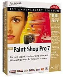 amazon com jasc paint shop pro 7 0 old version