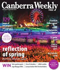 10 september 2015 by canberra weekly magazine issuu