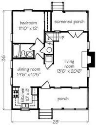 Small Floor Plans Cottages I Would Turn Bedroom Into An Office Library Study Media Room And