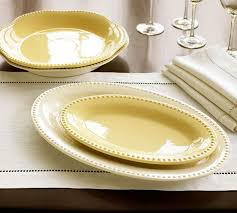 serving platters pottery barn