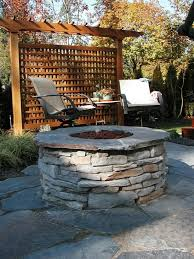 Firepit Screens Cozy Pit This Back Garden Getaway Includes Privacy Screens