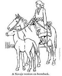 horse print color pages 2 color horse