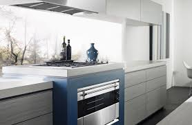 Kitchen No Cabinets Light White Benchtop Drawers With No Handles Glass Splashback