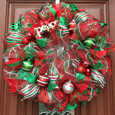christmas mesh wreaths deco mesh christmas wreath traditional from what s on your