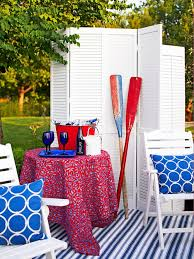 Red White And Blue Home Decor Bhg Centsational Style