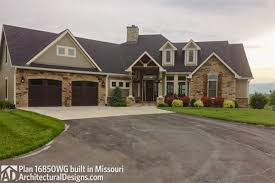 architecturaldesigns com house plan 16850wg comes to life in missouri