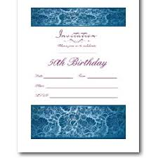 50th birthday invitations free printable party invitations