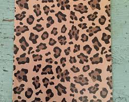 leopard print tissue paper leopard print gift etsy