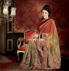 reception sarees for indian weddings indian bridal saree for reception party stylespoint