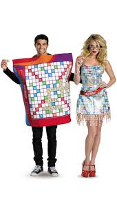 halloween 80s costumes scrabble couples costumes