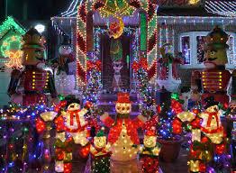 christmas house lights stock photos royalty free christmas house