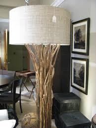 home furnishings made of natural materials palecek twig lamp
