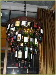 Wine Bottle Light Fixtures Wine Bottle Light Fixture Home Design Ideas