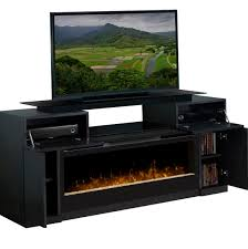 corner media console electric fireplace decorative modern media