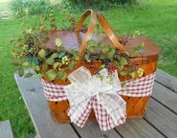 picnic basket ideas picnic basket picnic basket set repurposed picnic basket green