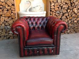 poltrona in pelle vintage poltrona chesterfield club originale inglese vintage in vera pelle