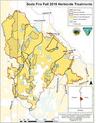 Idaho Fires Map Treatments Continue On Owyhee County U0027s Soda Fire Idaho Fish And Game