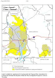 Meeker Colorado Map by Oil Shale And Tar Sands Peis Maps
