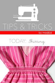 shirring elastic tips tricks shirring with elastic thread sewing tutorials and