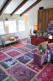 Rugs For Living Room Ideas by Use Multiple Small Area Rugs Instead Of One Large One For Added