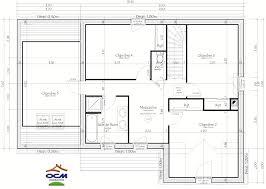 plan de maison a etage 5 chambres maison 5 chambres chambre plan newsindo co