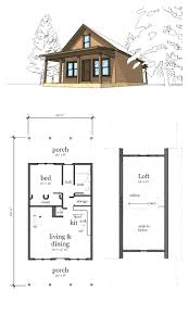 small house floor plans with loft floor plans for cabins 16 x34 with loft plus 6 porch side
