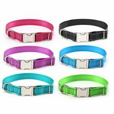 collar light for small dogs glow castle dog collar leather collar light in outdoor recreation