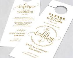 wedding door hanger etsy