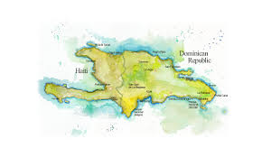 Map Dominican Republic Map Of Hispaniola Map Of Haiti And Dominican Republic