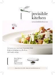cuisine invisible invisible kitchen cooking philosophy tom burney catering service